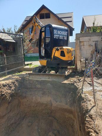 BobCat Excavator Fose Septica De Inchiriat