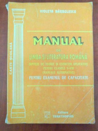 Manual Limba si Literatura Romana pentru examenul de capacitate