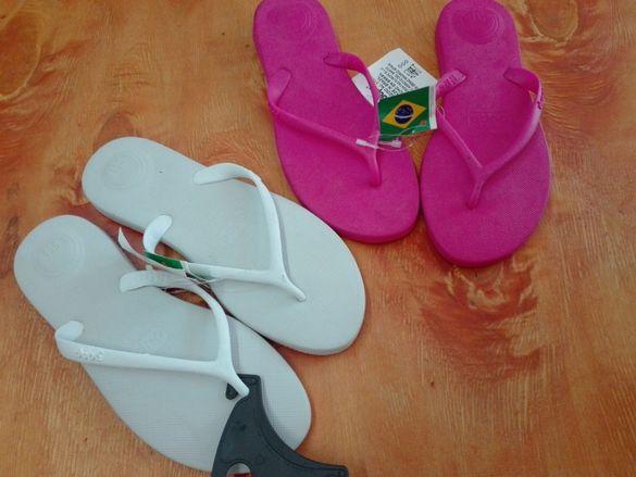 бразилски джапанки Dupe 37 38 номер гел