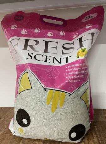 Наполнитель Fresh с запахом Лимона 10 L