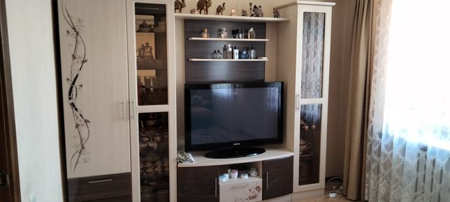 Мини стенка для гостинной комнаты