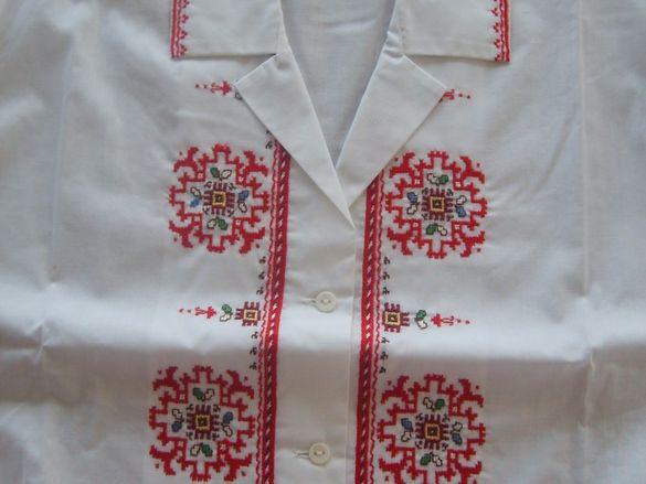 Дамски ризи с ръчна бродерия