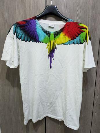 Tricou Marcelo Burlon Wings XXS , S ( fit S-M)