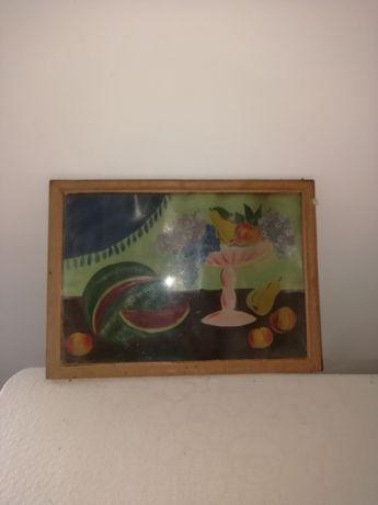 Vind tablou pictat cu fructe