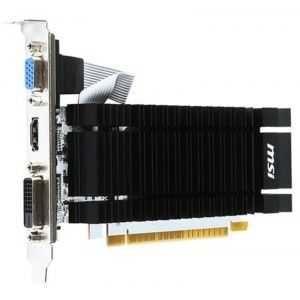 Placa video noua MSI nVidia Geforce GT 730, 2 GB DDR3, ieftin