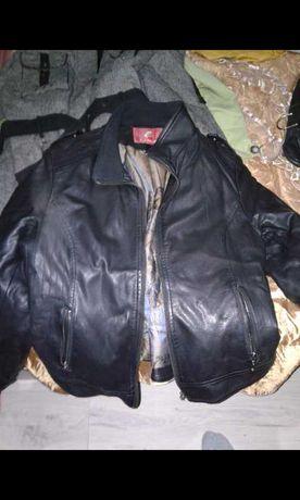 Кожаная куртка  и демисезонная