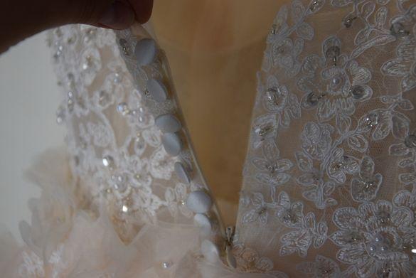 Нова сватбена булчинска рокля