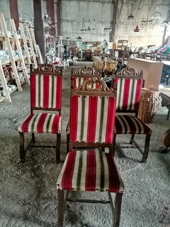 Масивни ретро столове внос от Европа