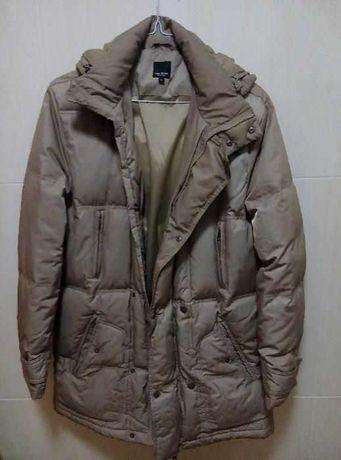 Мужское пальто Finn Flair (размер L) бежевое в отличном состоянии