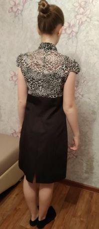 Продам офисное платье, размер 44.