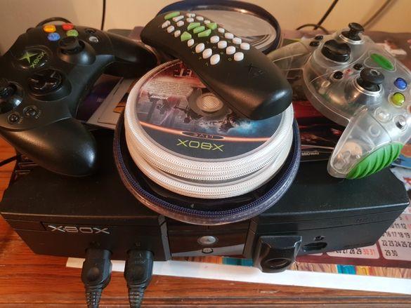 Xbox Clasic 2 джойстика и дистанционно  за Dvd