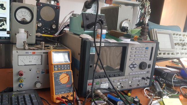 Reparatii statii radio emisie,calibrare antena