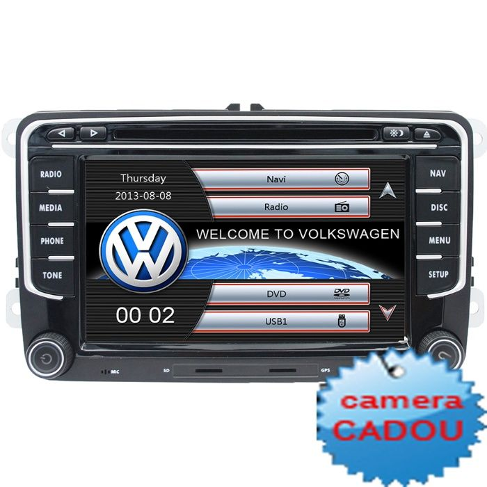 Dvd Navigatie VW Passat B6 B7 CC Golf 5 6 Jetta Tiguan Skoda Octavia 2 Bucuresti - imagine 1