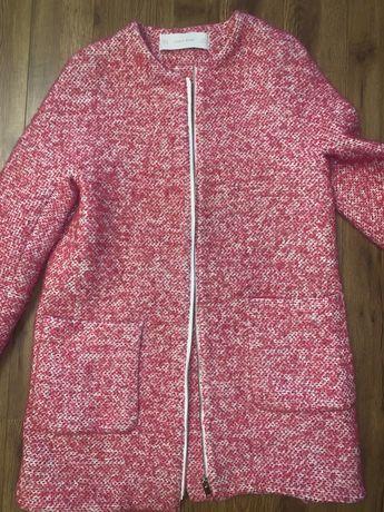 Розовое пальто Zara