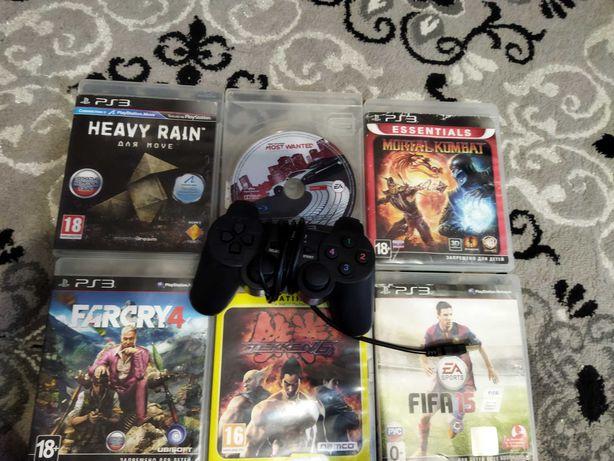 Игры и джойстик на PlayStation 3