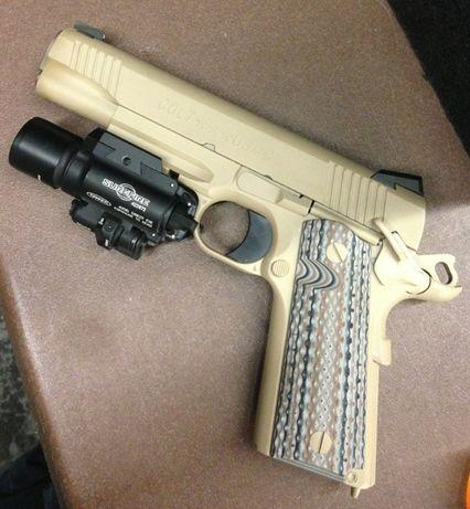Pistol Metal Slide Cu bile(spring)Manual OKAZIE!! airsoft IEFTIN Full
