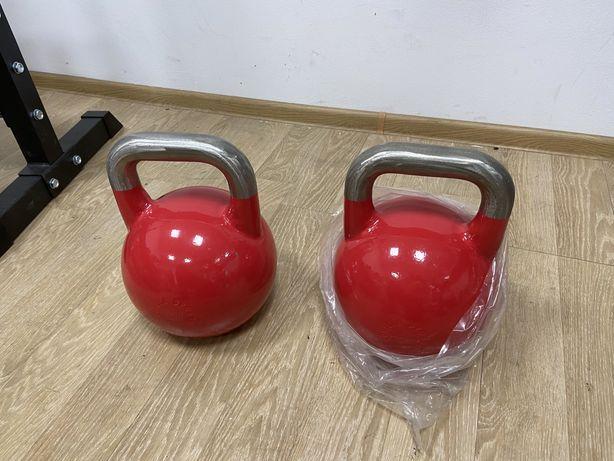Gantere kettlebell competitie profesionale noi 32 kg+32 kg=64 kg