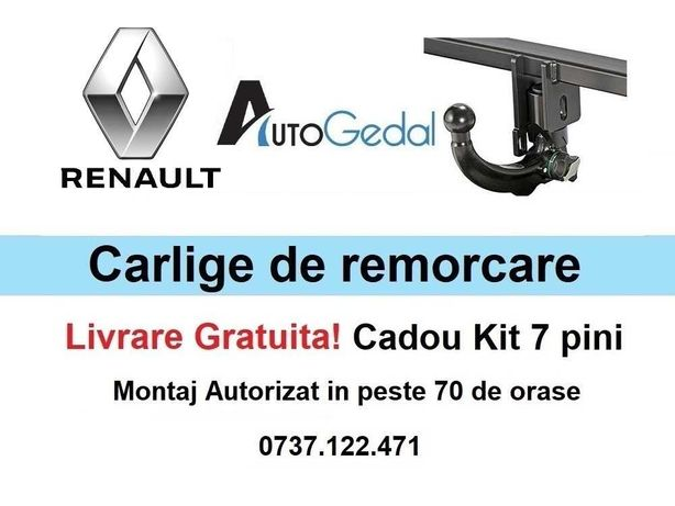 Carlige de remorcare omologate RAR Renault Master - 5 ani garantie