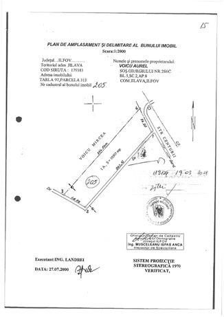 Teren INTRAVILAN Jilava | In interiorul cercului de centura