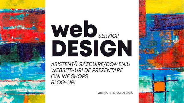 Servicii WebDesign - Creare de Website-uri, Blog-uri