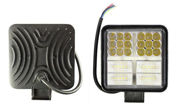 162W IP68 LED Халоген работна лампа диоден фар 54 диода DC 10-30V