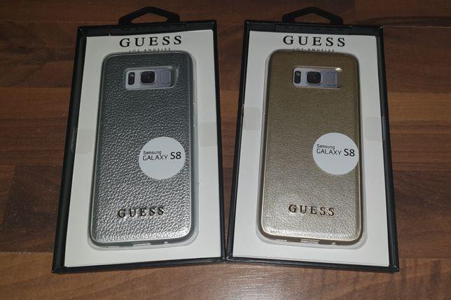 Husa piele noua originala Guess Samsung Galaxy S8 si S8+ S8 Plus