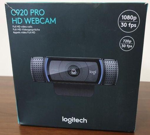 Camera Web Logitech C920 Pro HD Webcam FullHD 1080p Noua. Sigilata
