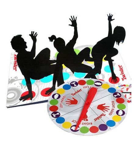 Twister, joc de societate, interactiv, pentru copii, adulti