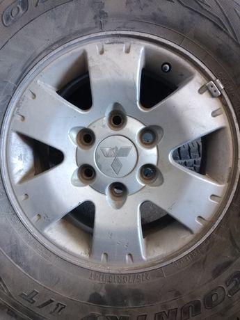 Диски Mitsubishi Pajero 16 диаметр