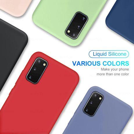Матов Силиконов Кейс за Samsung Galaxy S20FE / S20 / S20 Ultra
