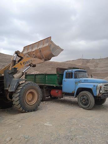 Доставка сыпучих, песок, отсев, щебень, Сникерс, глина, окол, цемент