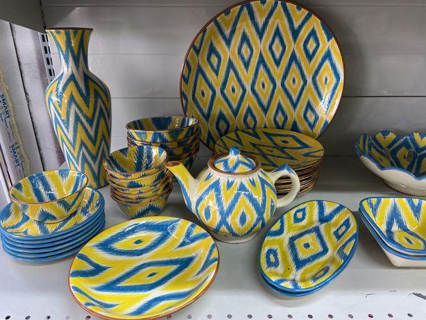Посуда, керамика, арт посуда, тарелка, фруктовница, чайник