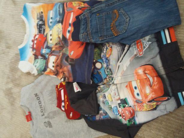 Футболка, джинсы, куртка для мальчика