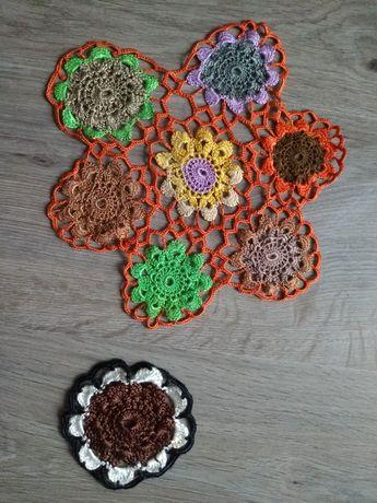 Плетено каре за украса, декорация
