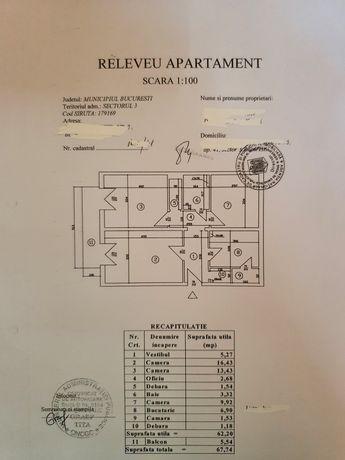 Casa de la bloc - apartament 3 camere decomandate