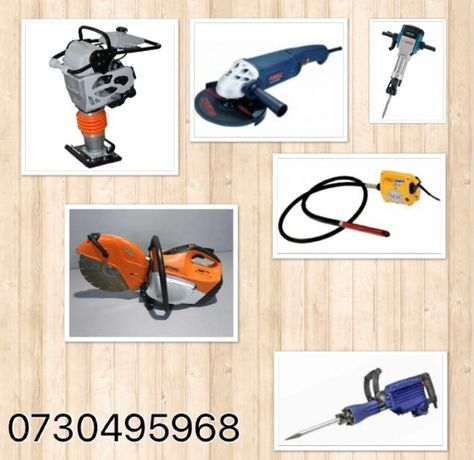 Inchiriez mai compactor,picamar,vibrator beton,picamer,generator ,etc