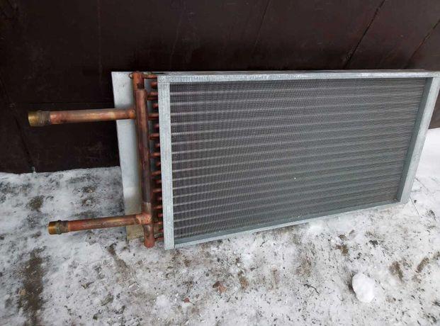 радиатор медный на приточную систему
