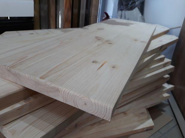 PROMOTIE Blat din lemn masiv de pin pentru spatii de lucru sau mese.