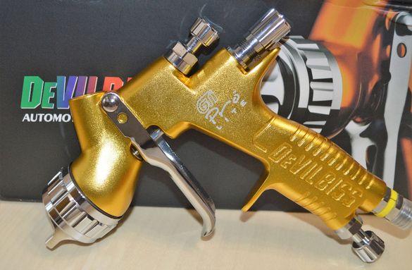 НОВИ!!! DevilBiss GTI \LVMP - ПРОФЕСИОНАЛНИ Бояджийски пистолет ФАКТУР