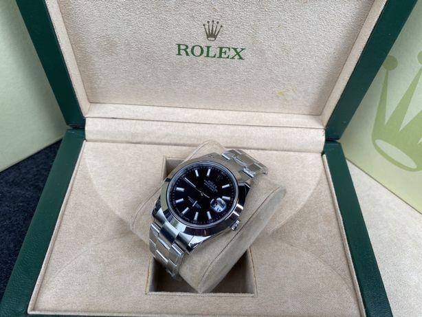 Rolex Date-Just Black, ETA3135 SWISS, 904L !!!