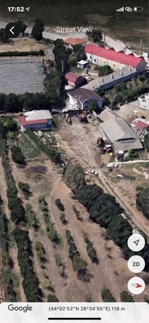 Vand teren intravilan + casa