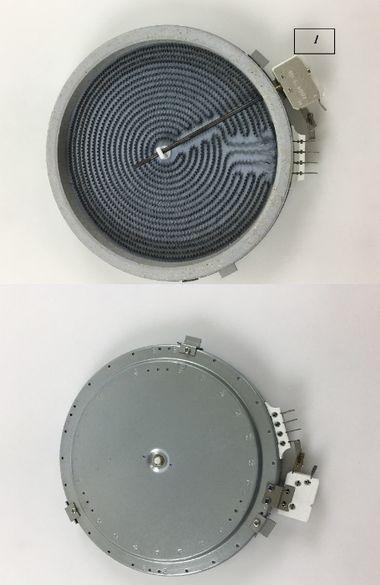 Нагревателна плоча за керамичен плот Лъчист нагревател единична двойна