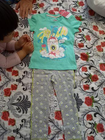 Продам костюм детский (футболка, лосины)