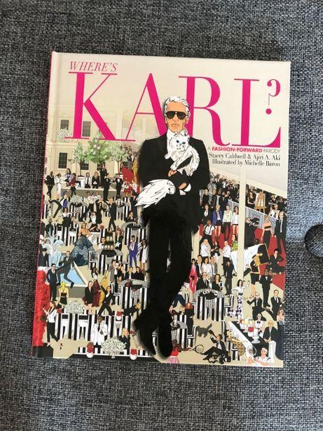 Where's Karl Lagerfeld carte comics desene Chanel moda arta
