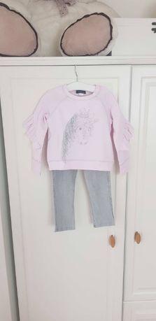 Дизайнерска детска блуза блузон Kate Mack, 3 години + ПОДАРЪК клин