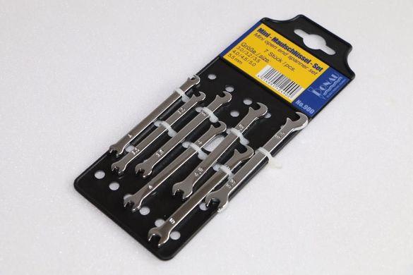 мини гаечни ключове 7 бр, нови, немски DONAU, внос от Германия