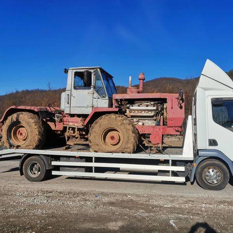 Пътна помощ Панагюрище транспорт трактори селскостопанска техника