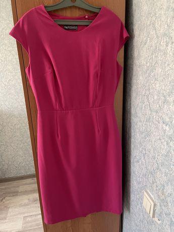 Платье турецкое шикарное малиного цвета рр 46