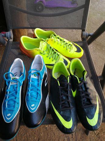 Футболни обувки Lotto и Nike