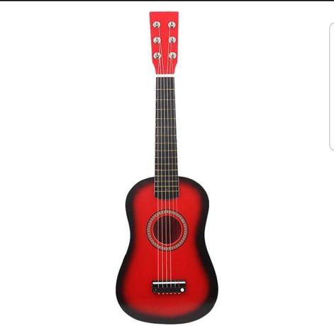 Chitara pentru copii,65cm,diverse culori